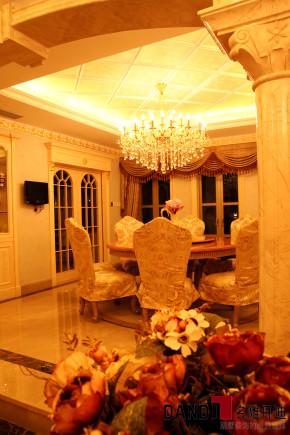 欧式 别墅 高富帅 别墅装饰 奢华 熙园 客厅 餐厅图片来自名雕丹迪在迷恋·奢华—熙园欧式别墅的分享