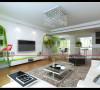 天一家园四居室半包6万现代风格