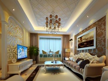42万打造427平米简欧三居室