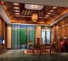 名雕丹迪别墅装饰设计—兰乔圣菲中式别墅—地下室