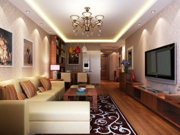 两居室泰式风格