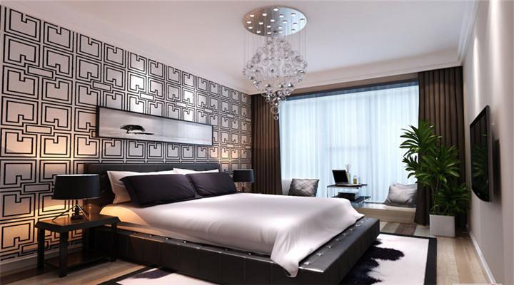 简约 北欧 二居 白领 收纳 80后 小资 装修效果图 装修设计 卧室图片来自长沙实创装饰徐在审美情趣的影响、一种挂念的推动的分享