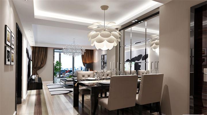 简约 北欧 二居 白领 收纳 80后 小资 装修效果图 装修设计 餐厅图片来自长沙实创装饰徐在审美情趣的影响、一种挂念的推动的分享