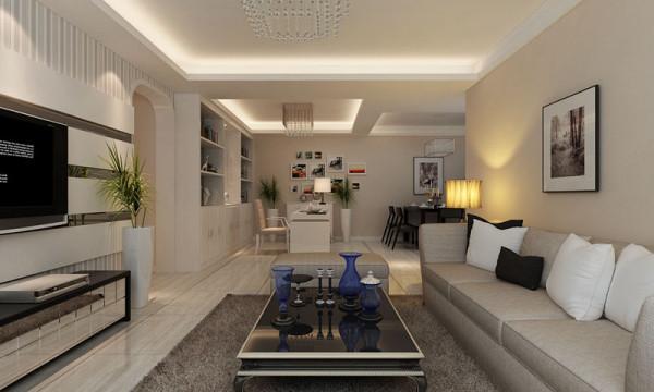 考虑到空间内以白色为主色调,因此书桌的背景墙上面利用照片墙来点缀空间,增加了空间时尚感及个性化。