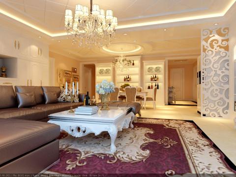 南宫景苑190平高贵奢华欧式经典