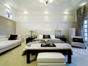 又不乏居室的欧式奢华与稳重。