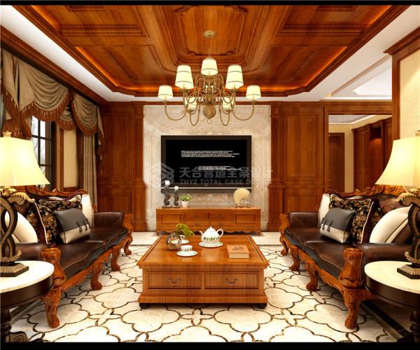 美式家居风格的这些元素也正好迎合了这个案例业主对生活方式的需求,设计的重点是强调优雅的生活和舒适的设计,融合现代生活空间,完成了另外一种休闲式的浪漫。
