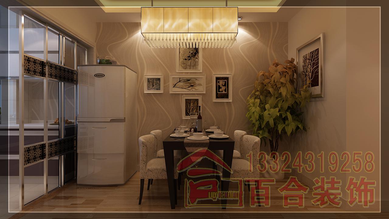 餐厅图片来自吉林百合装饰集团在南湖公馆的分享