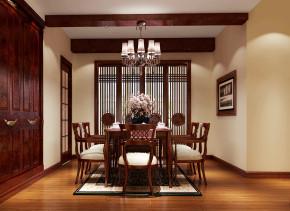 简约 中式 高度国际 时尚 白富美 公寓 白领 80后 西山壹号院 餐厅图片来自北京高度国际装饰设计在西山壹号院200平简约中式平层的分享
