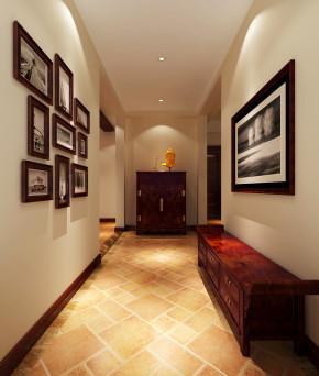 简约 中式 高度国际 时尚 白富美 公寓 白领 80后 西山壹号院 玄关图片来自北京高度国际装饰设计在西山壹号院200平简约中式平层的分享