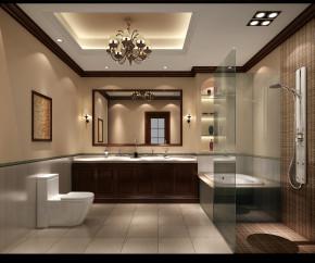 混搭 中式 欧式 公寓 西山壹号院 高度国际 白领 80后 白富美 卫生间图片来自北京高度国际装饰设计在西山壹号院中西混搭平层的分享