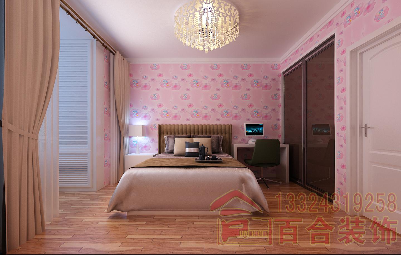 简约 小资 卧室图片来自吉林百合装饰集团在保利百合香水湾的分享