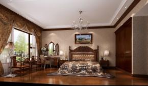 混搭 中式 欧式 公寓 西山壹号院 高度国际 白领 80后 白富美 卧室图片来自北京高度国际装饰设计在西山壹号院中西混搭平层的分享