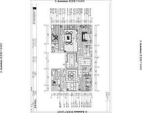 混搭 中式 欧式 公寓 西山壹号院 高度国际 白领 80后 白富美 户型图图片来自北京高度国际装饰设计在西山壹号院中西混搭平层的分享