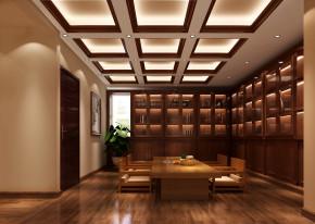 简约 欧式 四居 高度国际 时尚 白富美 白领 80后 别墅 书房图片来自北京高度国际装饰设计在鲁能7号院260平简欧平层的分享