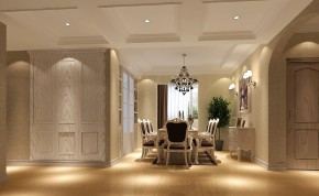 巴厘岛 高度国际 时尚 白富美 欧式 三居 白领 80后 公寓 餐厅图片来自北京高度国际装饰设计在巴厘岛欧式四居的分享
