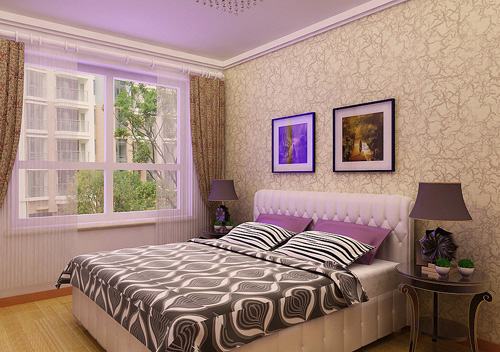 二居 简约 卧室图片来自多啦A梦的百宝袋在金地檀溪的分享
