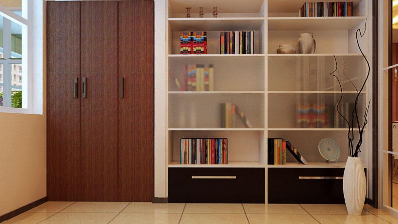 三居 旧房改造 80后 书柜图片来自fengjiao_zhang在默认专辑的分享