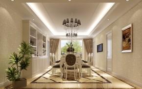 简约 欧式 三居 白领 80后 东湖湾 高度国际 时尚 白富美 餐厅图片来自北京高度国际装饰设计在东湖湾三居简欧公寓的分享