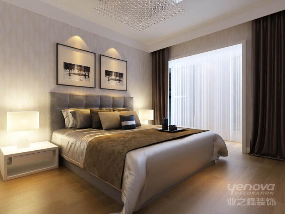 卧室图片来自天津业之峰装饰在爱尚公寓简约两居室的分享