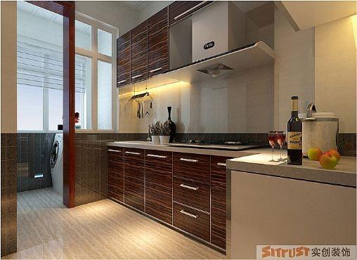 厨柜的色彩能刺激人的食欲,使人心情愉悦,使枯燥的厨房操作过程变得生动有趣。