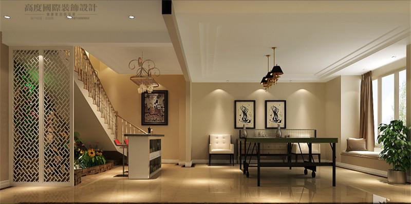 楼梯图片来自高度国际王慧芳在8哩岛现代中式风格的分享