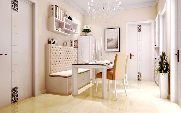 新芒果和郡 现代简约 餐厅图片来自美巢装饰在新芒果和郡89.95二室现代简约的分享