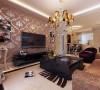 整体色彩调配采用了现代家居的关键色——白色来增强空间感,白色地砖体现了自然与洁净,咖色的墙壁则把握了时尚的脉搏。在这样的背景映衬之下,时尚色彩与温馨家居达到了完美的结合。