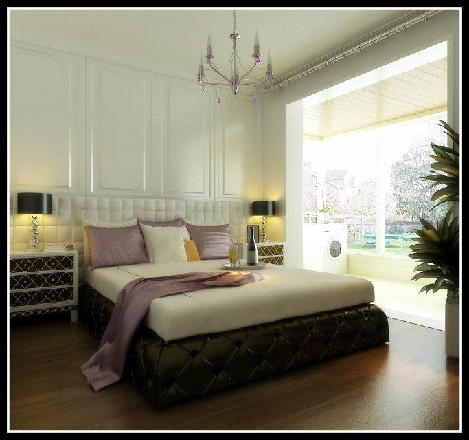 简约 田园 二居 80后 卧室图片来自恒远装饰在紫晶悦城96平米的分享