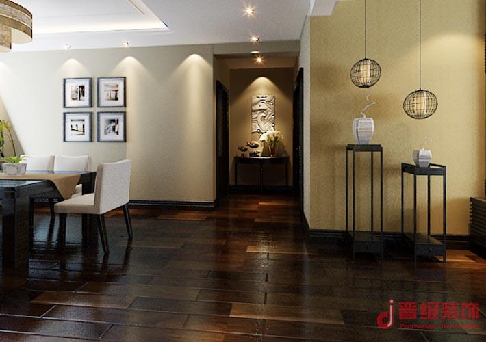 中式 晋级装饰 小资 沈阳装修 室内设计 长青湾 玄关图片来自晋级装饰东方在金地长青湾178平米中式风格的分享
