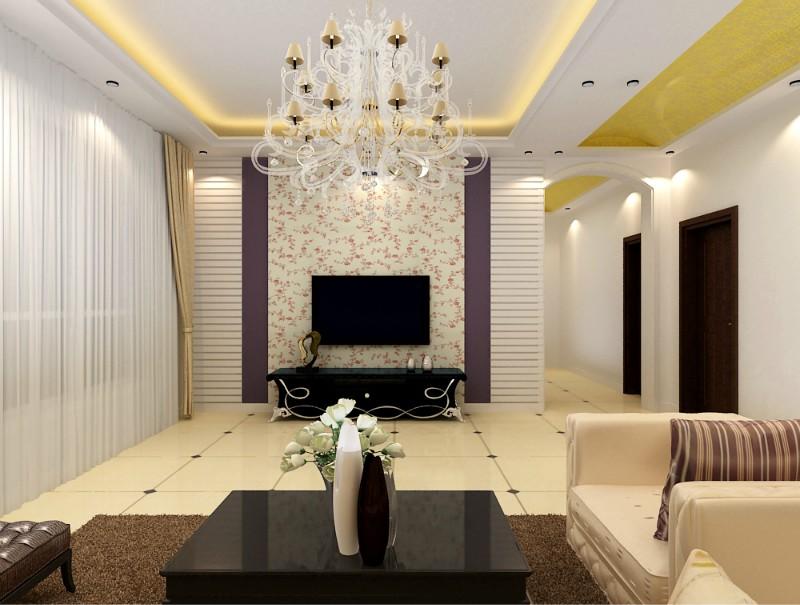 简约 田园 二居 80后 客厅图片来自恒远装饰在雍雅锦江91平的分享