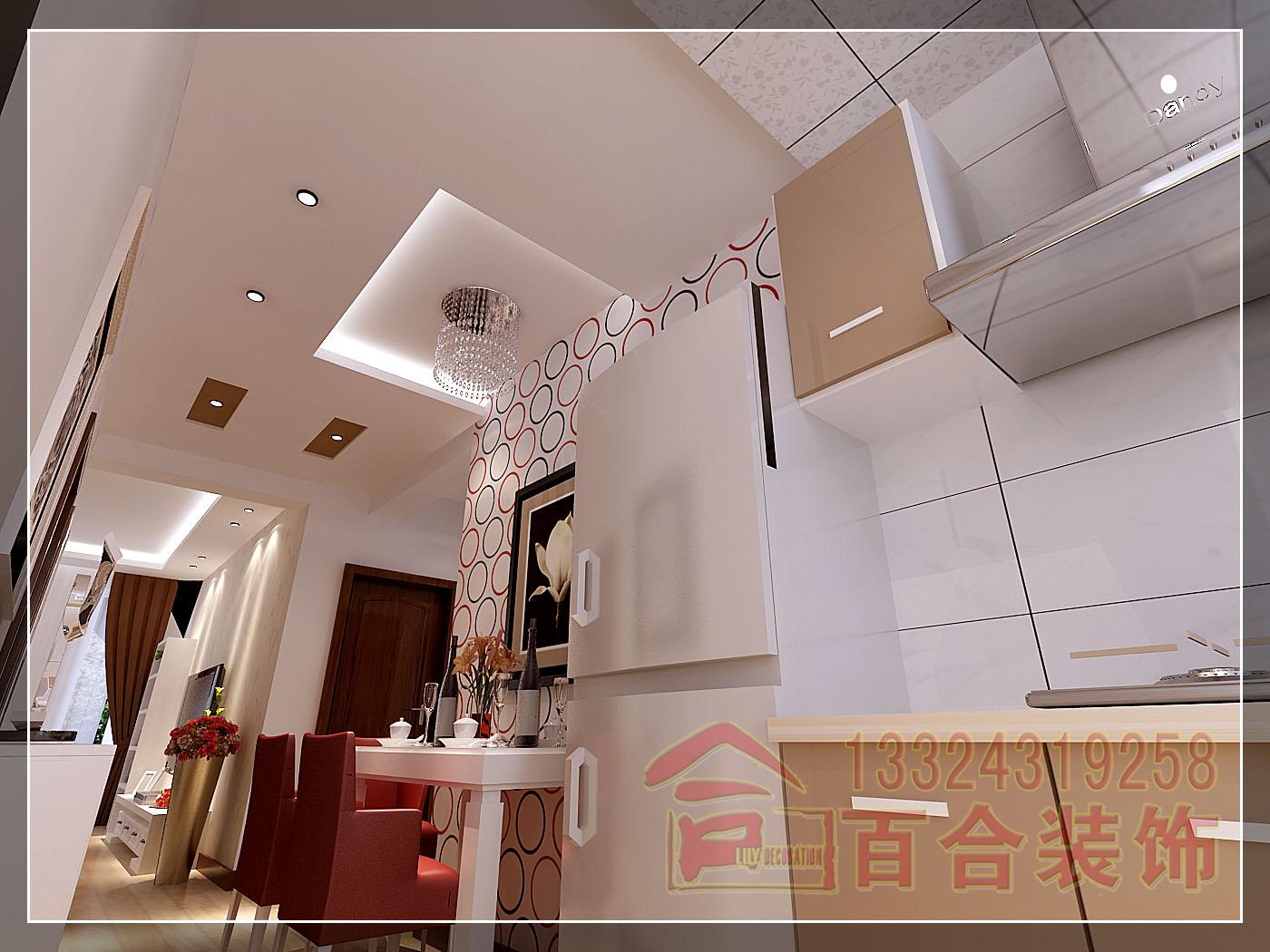 混搭 白领 厨房图片来自吉林百合装饰集团在绿地新里中央公馆的分享