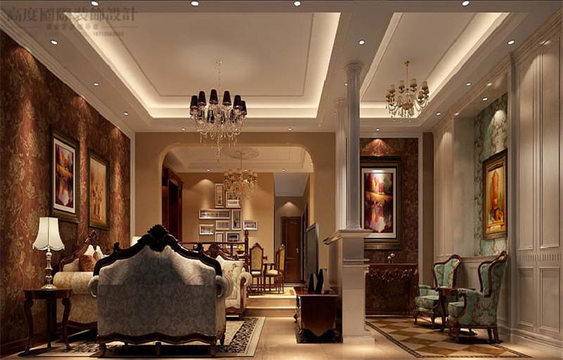 现代简约 风格 装饰设计 3口之家 四室两厅 客厅图片来自高度国际王慧芳在孔雀城2.2期现代简约风格的分享