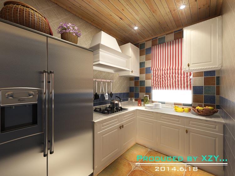 地中海风格 三居 白领 晋级装饰 沈阳装修 厨房图片来自晋级装饰东方在奉天九里143平地中海风格的分享