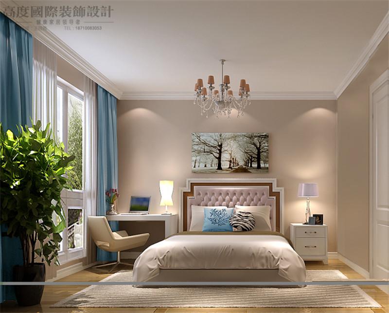 卧室图片来自高度国际王慧芳在8哩岛现代中式风格的分享