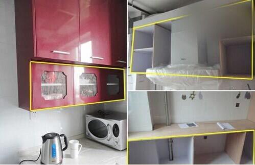 设计师建议:可以根据老人需求,让木工定做一套橱柜。比去品牌定做便宜,还更实用。为照顾老人,建议厨房用玻璃移门保证光线。这是为老人习惯,定做的菜厨,平时可以将一些饭菜放在这里保存,整洁卫生。