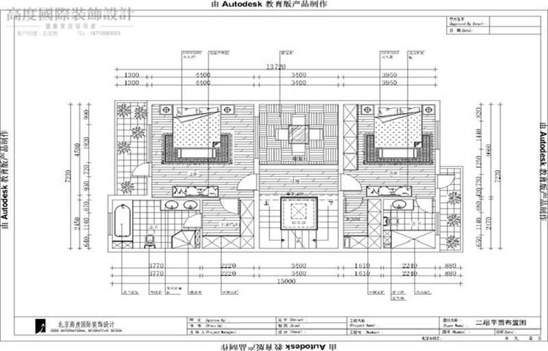 现代简约 风格 装饰设计 3口之家 四室两厅 户型图图片来自高度国际王慧芳在孔雀城2.2期现代简约风格的分享