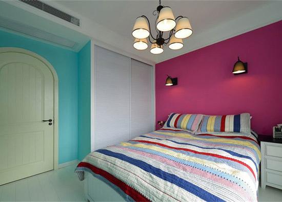 混搭 美式 地中海 鑫苑世家 卧室图片来自沪上名家装饰在鑫苑世家美式地中海混搭实景的分享