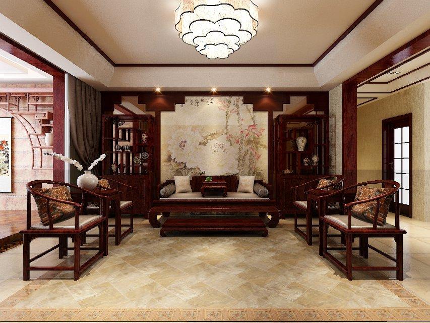 中式 两居 客厅图片来自今朝装饰小俊在中式之家的分享