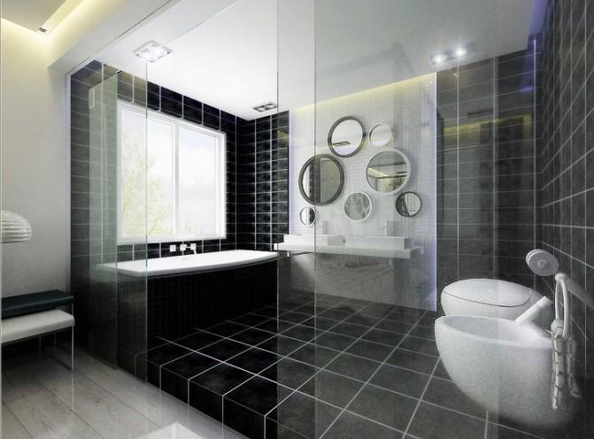 卫生间图片来自亚光亚装饰在幻空间,迷梦的分享