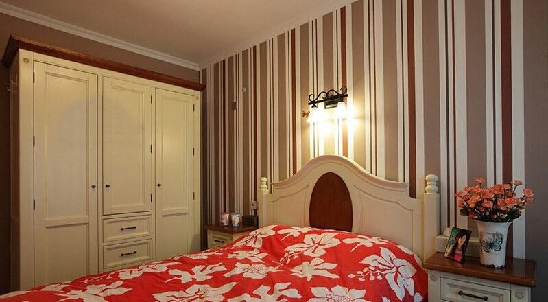 卧室图片来自佰辰生活装饰在9万造就86平田园2居很温馨的分享