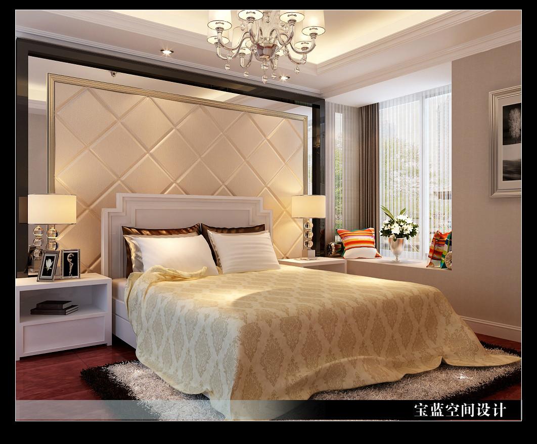 简欧 卧室图片来自众意装饰在汉口城市广场-简欧风格的分享