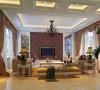 整个空间方正宽阔,层高较高,因此采用了奢华大气的古典主义造型,以现代装璜手段为表皮,以传统古典韵味为筋骨,让室内空间得到最大利用的同事,充分展现了业主的审美品位和身份地位。