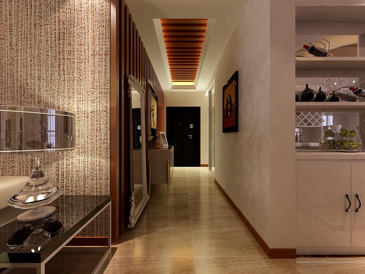 欧式 玄关图片来自上海华埔装饰设计中心在简约欧式的分享