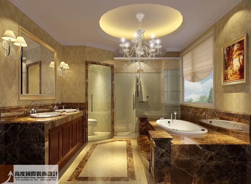 欧式 奢华 别墅 80后 小资 卫生间图片来自沙漠雪雨在花盛香醍 263平欧式奢华别墅的分享