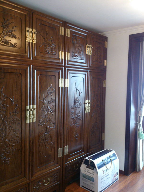中式风格 实创装饰 2居室装修 老房子翻新 卧室图片来自北京实创装饰在老房子翻新实景案例展示中式风格的分享