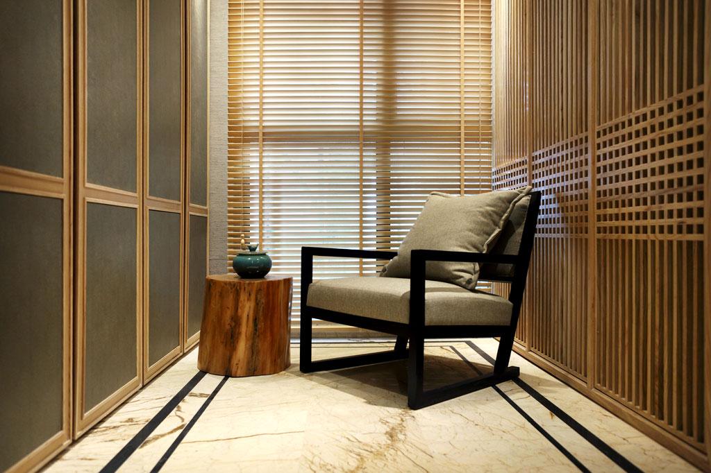 中式 四居 KSL设计 别墅 样板房 玄关图片来自香港KSL设计事务所在原木清风—KSL赣州样板房设计的分享