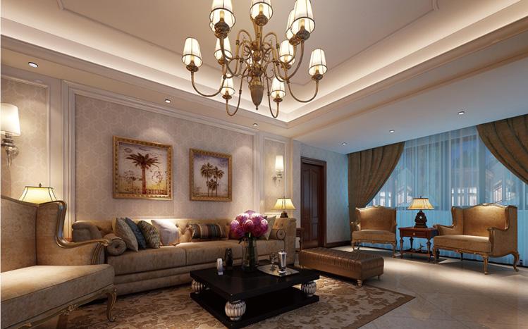 简约 欧式 三居 别墅 白领 收纳 80后 小资 客厅图片来自实创装饰百灵在现代醉西风125平米三居室的分享