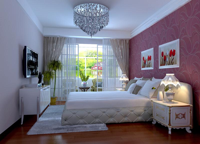 简约 二居 小资 80后 卧室图片来自贾凤娇在93平的温馨的分享