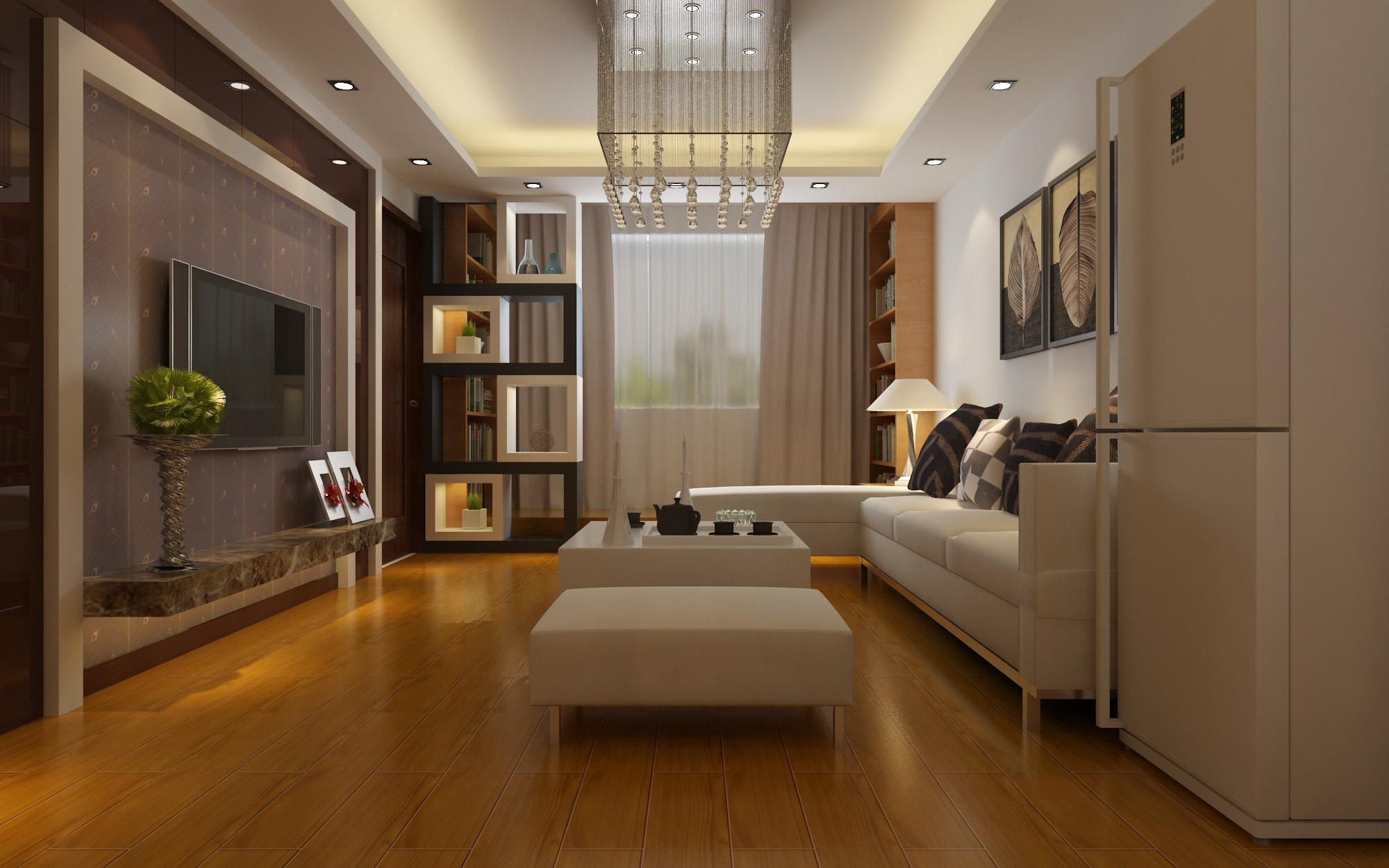 简约 二居 客厅图片来自实创装饰上海公司在简约风格-两居室的分享